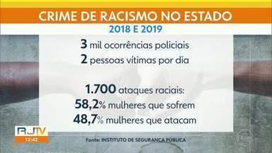 ISP divulga pesquisa inédita sobre o racismo no estado - Segundo levantamento, duas pessoas são vítimas de racismo por dia.