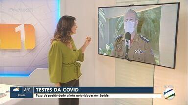 Aumento de resultados positivos para COVID-19 alerta autoridades de saúde - Sesau acompanha casos confirmados da doença após retorno das escolas