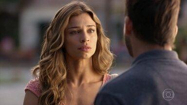 Cassiano pede perdão a Ester por ter agredido Alberto - Ester garante que Alberto não fará nada contra Samuca
