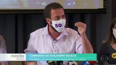 Eleições 2020 para prefeitura da capital: Guilherme Boulos se reuniu com especialistas - O candidato do PSOL discutiu o programa de governo