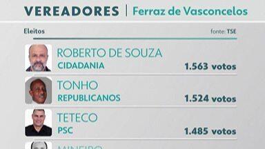 Confira quem são os vereadores eleitos de Ferraz de Vasconcelos - Veja os eleitos e reeleitos no domingo (15).