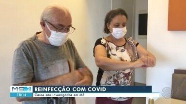 Casos de reinfecção de Covid-19 são investigados em MS - Casos de reinfecção de Covid-19 são investigados em MS