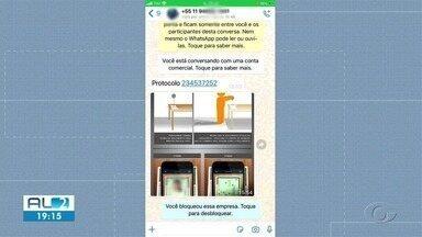 PC investiga golpe contra beneficiários do INSS - Suspeitos ligam e mandam mensagens pedindo fotos de documentos pessoais.