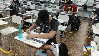 Prova do vestibular do ITA será no próximo domingo - Estudantes se preparam para prova.