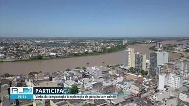 Verba de compensação à exploração de petróleo vem caindo ao longo dos anos, em Campos - Esta é a segunda vez no ano que o município não recebe a participação especial.