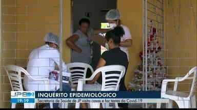 Mais de 500 pessoas são testadas durante Inquérito Epidemiológico, na Capital - esse foi o 3º ciclo do inquérito em João Pessoa