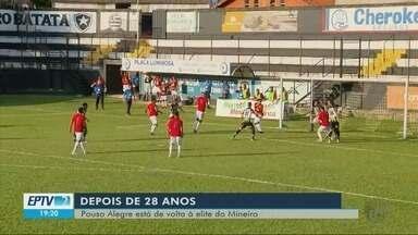 Pouso Alegre conquista vaga na elite do futebol Mineiro - Pouso Alegre conquista vaga na elite do futebol Mineiro