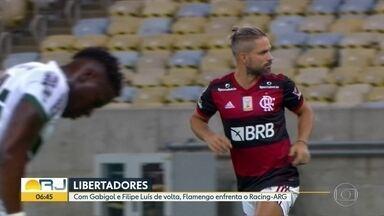Fla joga nesta terça (24) pela Libertadores - Time enfrenta o Racing na Argentina.