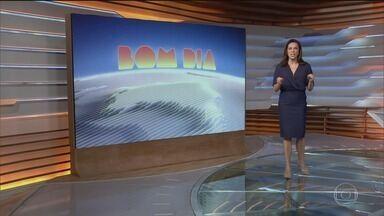 Bom dia Brasil - Edição de terça-feira, 24/11/2020 - O telejornal, com apresentação de Chico Pinheiro e Ana Paula Araújo, exibe as primeiras notícias do dia no Brasil e no mundo e repercute os fatos mais relevantes.