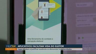Aplicativos ajudam eleitores no dia da votação e em denúncias de irregularidades - 2º turno das eleições está marcado para domingo (29).