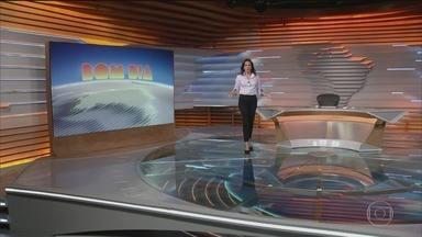 Bom dia Brasil - Edição de quarta-feira, 25/11/2020 - O telejornal, com apresentação de Chico Pinheiro e Ana Paula Araújo, exibe as primeiras notícias do dia no Brasil e no mundo e repercute os fatos mais relevantes.