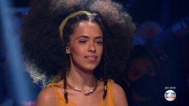 Bruna Black recebe os comentários sobre sua performance - Os técnicos elogiam a versatilidade da cantora