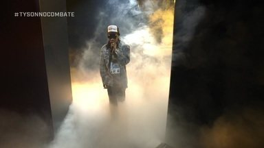 Confira a apresentação de Wiz Khalifa no intervalo do boxe internacional - Confira a apresentação de Wiz Khalifa no intervalo do boxe internacional