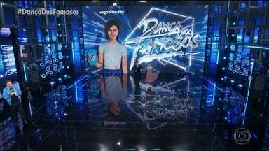 André Gonçalves e Paula Santos dançam a musica 'Beyond The Sea' - Confira
