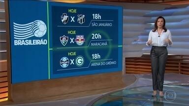 Veja os jogos dessa 2ª feira pelo Brasileirão - Três partidas completam a rodada do fim de semana.