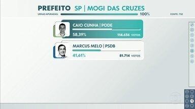 Caio Cunha, do Podemos, foi eleito prefeito de Mogi das Cruzes - Há 20 anos não tinha segundo turno na cidade