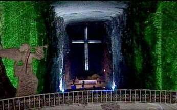 Catedral de sal - Local é um dos pontos turísticos mais importantes da Colômbia.