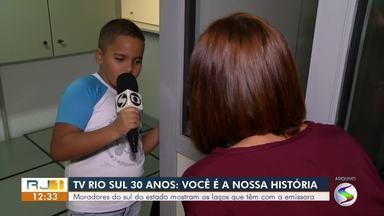 TV Rio Sul comemora 30 anos com participação dos telespectadores - parte 1 - Moradores da região mostram como a emissora impactou suas vidas ao longo de três décadas.
