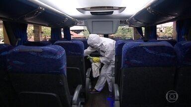 Infectologistas temem que as viagens de ônibus de fim de ano agravem ainda mais a pandemia - ANTT prevê um aumento de 20% de viagens em dezembro em relação ao mês de novembro.