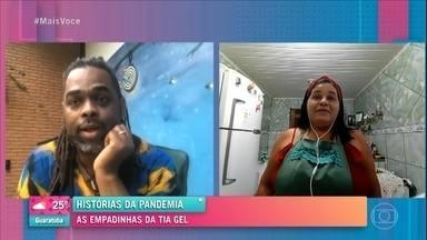 Tia Gel e Nonoca: dobradinha que deu certo - Preta Gil aplaude Tia Gel