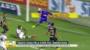 Vasco joga em São Januário nesta quinta (3) - Time enfrenta o Defensa y Justicia.