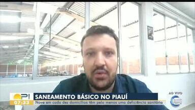Nove em cada dez domicílios têm pelo menos uma deficiência sanitária no Piauí - Nove em cada dez domicílios têm pelo menos uma deficiência sanitária no Piauí