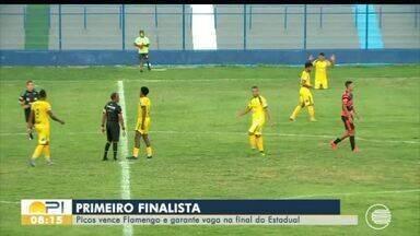 Picos vence Fla-PI e é o primeiro finalista do piauiense 2020 - Picos vence Fla-PI e é o primeiro finalista do piauiense 2020