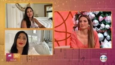 Simone e Simaria desejam força a Fátima Bernardes - Dupla manda recado positivo para a apresentadora, que se afastou do 'Encontro' para tratar um câncer no útero em estágio inicial