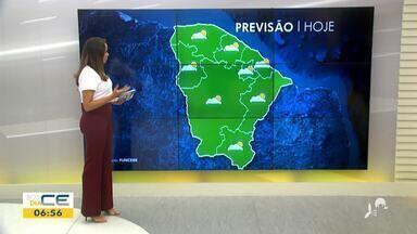 Veja a previsão do tempo e a situação do trânsito com Bárbara Sena - Saiba mais em: g1.com.br/ce