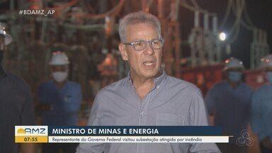 Ministro de Minas e Energia visita o Amapá e acompanha ações para segurança energética - Bento Albuquerque comentou na quarta-feira (2) que os níveis baixos de reservatórios em hidrelétricas viraram uma preocupação nos últimos dias.