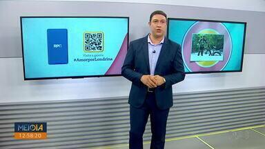 """Mostre seu amor por Londrina na campanha da RPC - Mande uma foto sua no seu lugar favorito da cidade pelo aplicativo """"VC NA RPC""""."""