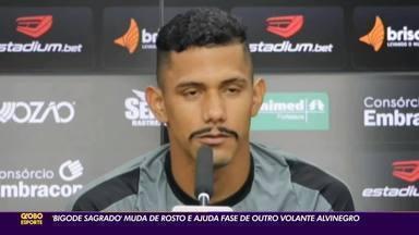"""""""Bigode sagrado"""" do Ceará muda de rosto e dá sorte novamente - """"Bigode sagrado"""" do Ceará muda de rosto e dá sorte novamente"""