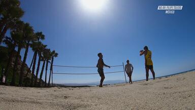 Viagem Para o México - Filipe viaja para Las Gaviotas, no México. Junto com sua família, ele experimenta as comidas típicas do lugar, conhece os pontos turísticos e surfa boas ondas.
