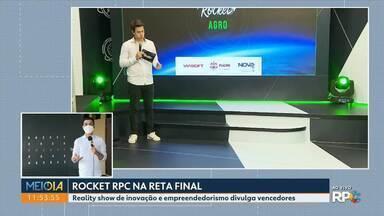Rocket RPC na reta final - Reality show de inovação e empreendedorismo divulga vencedores entre hoje e amanhã.