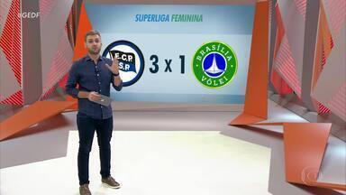 Brasília Vôlei sai na frente, mas toma a virada na Superliga Feminina - Brasília Vôlei sai na frente, mas toma a virada na Superliga Feminina