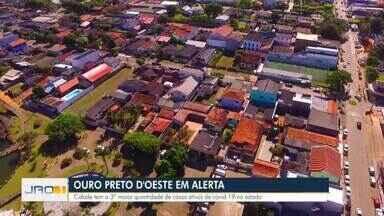 Pandemia coloca Ouro Preto em alerta - Cidade tem a terceira maior quantidade de casos ativos do Estado.