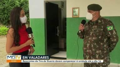 Tiro de Guerra convoca reservistas para o exercício de apresentação - Reservistas devem comparecer à unidade até o dia 16 de dezembro.