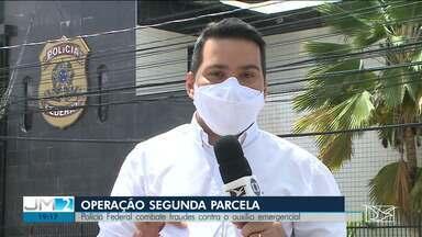 Operação da PF busca impedir fraudes no recebimento do auxílio emergencial no Maranhão - O repórter Olavo Sampaio deu mais informações.