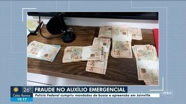 PF apreende dinheiro em operação contra fraude no auxílio emergencial - Em operação contra fraude no auxílio emergencial, PF apreende dinheiro nas casas de dois irmãos em SC
