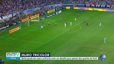 Bahia perde para o Defensa Y Justicia e terá novo desafio para ficar nas quartas-de-final - Clube tricolor se distanciou de garantir a vaga, pela primeira vez, da semifinal da competição.