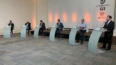 Bloco 3 do debate de candidatos à presidência do Santos - Confira o vídeo.