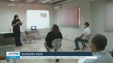 Eleições 2020: Rede Amazônica define em reunião regras de cobertura do 2º turno em Macapá - Eleições 2020: Rede Amazônica define em reunião regras de cobertura do 2º turno em Macapá