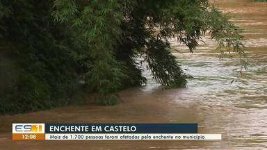 Corpo é encontrado em Castelo após enchente, no Sul do ES - Assista.