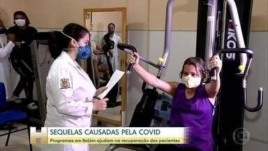 Em Belém 2 programas públicos ajuda os pacientes a superar as sequelas da Covid - Só na Universidade Estadual do Pará, mais de 500 pessoas fazendo estão fazendo reabilitação.
