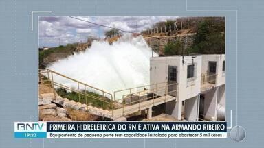 Primeira hidrelétrica do RN é ativada da Armando Ribeiro - Primeira hidrelétrica do RN é ativada da Armando Ribeiro