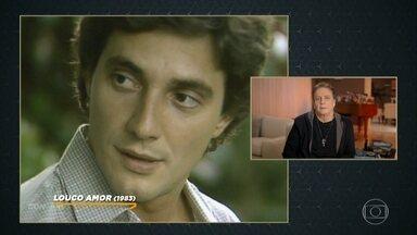 Fábio Jr revê e comenta cenas de seus personagens - Ator destaca um dos mais marcantes, Jorge Tadeu, de 'Pedra sobre Pedra'
