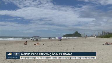 Medidas de prevenção contra o coronavírus nas praias - Governo divulga resolução com normas e orientações para a temporada de verão.