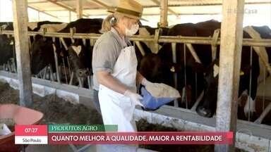Agricultora premiada fala sobre sucesso de práticas sustentáveis no campo - Clarisse Volski também é professora em escola pública rural