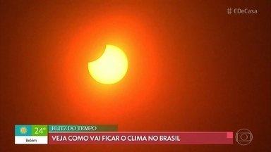 Blitz do Tempo: Veja como vai ficar o clima no Brasil - Verão será de muito calor e chuvas fortes