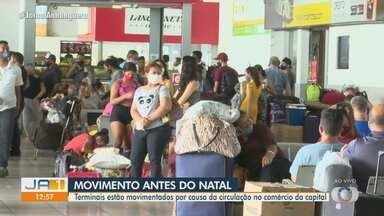 Movimento na Rodoviária de Goiânia é grande perto do Natal - Confira!